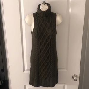 American Eagles Green Sweater Dress